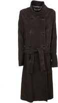 Golden Goose Deluxe Brand Double Breasted Trench