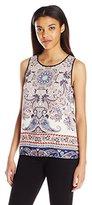 Clover Canyon Sportswear Women's Georgette Tank