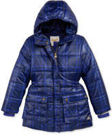 Tommy Hilfiger Printed Hooded Puffer Jacket, Little Girls (2-6X)