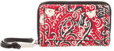 Marc Jacobs Paisley Print Leather Wallet