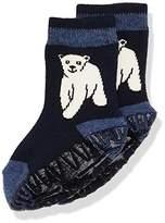 Sterntaler Baby Boys' Fli Soft Eisbär Calf Socks,5