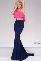 Jovani One Shoulder Two-Piece Prom Dress 49532