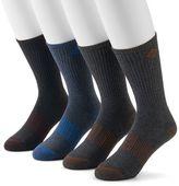 Columbia Men's 4-pack Heathered Ribbed Crew Socks