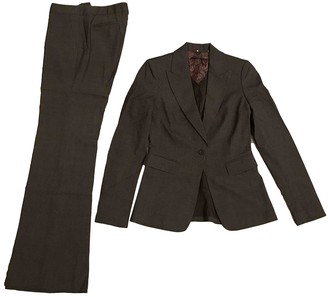 Elie Tahari Brown Wool Jacket for Women