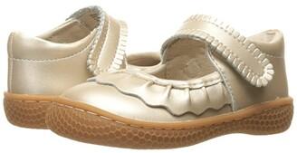 Livie & Luca Ruche (Toddler/Little Kid) (Champagne) Girl's Shoes
