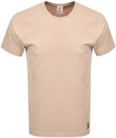 Franklin & Marshall Franklin Marshall Jersey Crew Neck T Shirt Brown