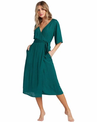 Billabong BILLABONGShorebreak - Midi Wrap Dress - Women - XS