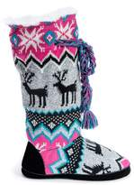 Muk Luks Grace Faux Fur Lined Slipper Boot