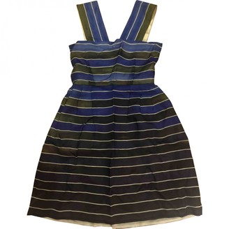 Emilio De La Morena Blue Silk Dress for Women