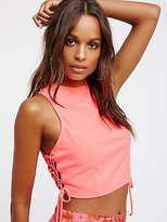 Free People Let's Kick It Shell Top