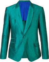 Haider Ackermann single button blazer - men - Cotton/Linen/Flax/Nylon/Rayon - 48