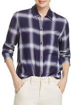 Vince Utility Plaid Shirt