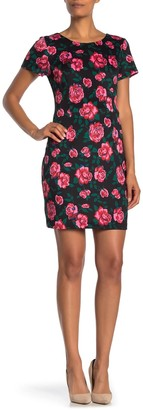 Betsey Johnson Vintage Bloom Scuba Dress