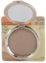Milani Smooth Finish Cream To Powder Makeup, Medium Beige