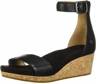 UGG Women's Zoe II Metallic Wedge Sandal