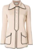 Gucci fitted cardi-coat