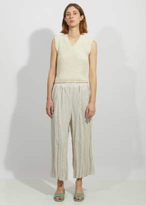 Acne Studios Parisa Creased Linen Culotte Trousers