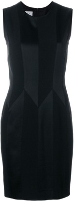 Moschino Pre Owned tonal geometric pattern sleeveless dress
