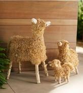Viva Terra Cornhusk Sheep Family