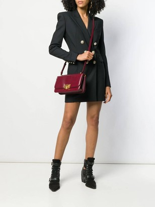 Balmain Black Double-breasted Blazer Dress