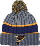 New Era St. Louis Blues Stripe Chiller Pom Knit Hat