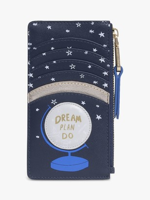 Radley Dream Plan Do Leather Coin Purse, Ink Blue