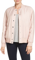 Two by Vince Camuto Rumpled Bomber Jacket
