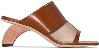 REJINA PYO Leah 60 wooden heel sandals