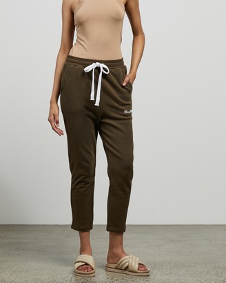 C&M CAMILLA AND MARC - Women's Green Sweatpants - Logan 2.0 Track Pants - Size 6 at The Iconic