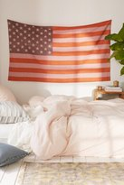 Urban Outfitters Small American Flag Tapestry