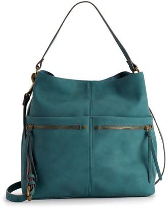 Sonoma Goods For Life SONOMA Goods for Life Sondra Dual Zip Hobo Bag