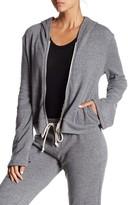 Alternative Eco Fleece Bell Sleeve Cropped Hoodie