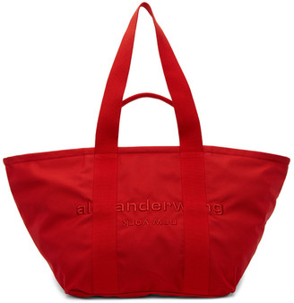 Alexander Wang Red Large Primal Tote