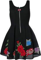 Philipp Plein Loredan rose patch dress