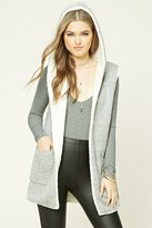 Forever 21 FOREVER 21+ Faux Shearling-Lined Vest