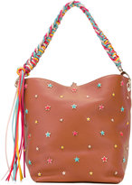 RED Valentino star studded tote bag