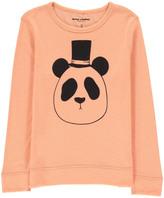 Mini Rodini Organic Merino Wool Panda Sweatshirt