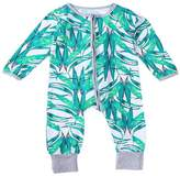 Suppion 2016 Infant Baby Boys Girls Zipper Print Romper Winter Clothes Outfits (24M, )