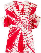 Toga Pulla cutout tie-dye T-shirt