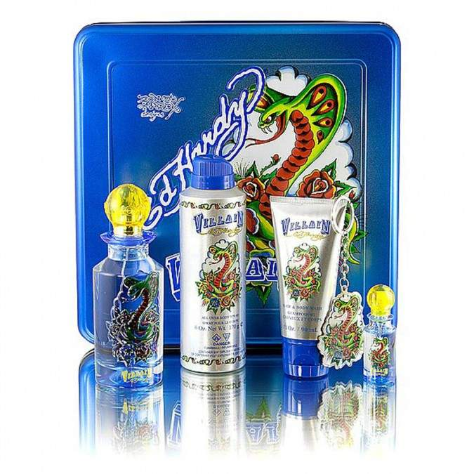 Ed Hardy Villain for Men 5 pack