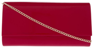 Collection Patent Flap Over Clutch Bag VM18 - 385