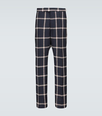 Thom Browne Prince of Wales checked wool pants