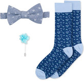 Bar III Men's Bow Tie, Lapel Pin & Socks Set, Only at Macy's