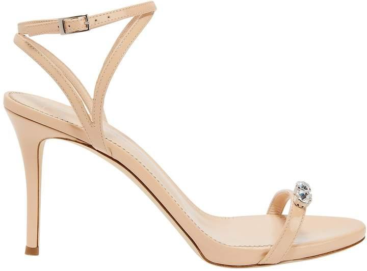 Giuseppe Zanotti Alien Embellished Patent Leather Sandals