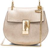 Chloé Mini Laminate Drew Bag