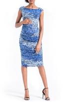 Leota Women's 'Wiggle' Ruched Maternity Dress