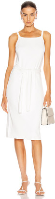 Helmut Lang Waist Dress in White | FWRD
