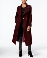 Kenneth Cole Wool-Blend Maxi Wrap Coat