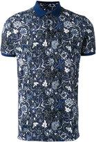 Etro floral print polo top - men - Cotton - S