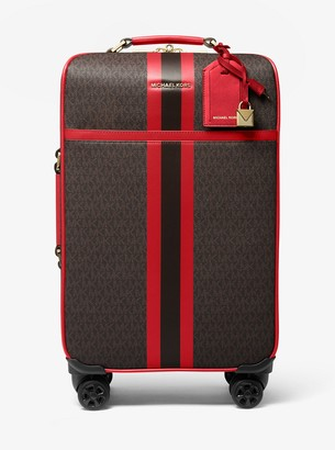 MICHAEL Michael Kors Bedford Travel Extra-Large Logo Stripe Suitcase